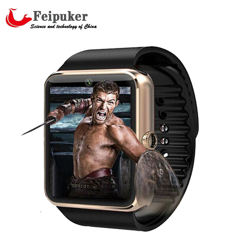2016 New Bluetooth Smart watch GT08 for Android samsung iphone WristWear Support Sync smart clock smartwatches reloj inteligente