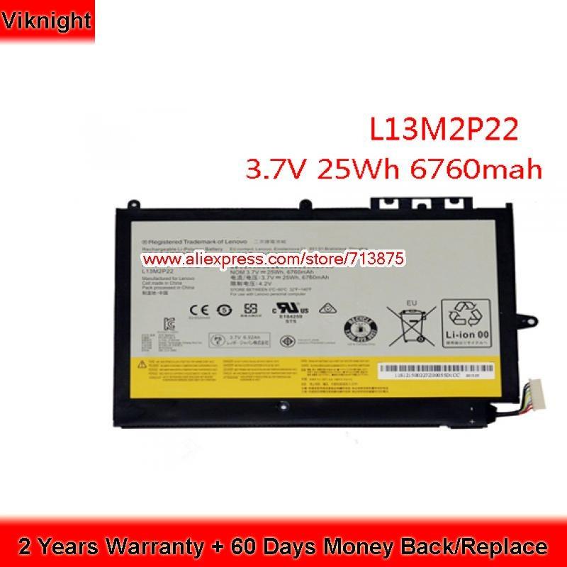 Genuine Battery L13M2P22 L13N2P21 for Lenovo MIIX2 10 Inch Laptop genuine laptop battery for lenovo sb10j78998 01av401