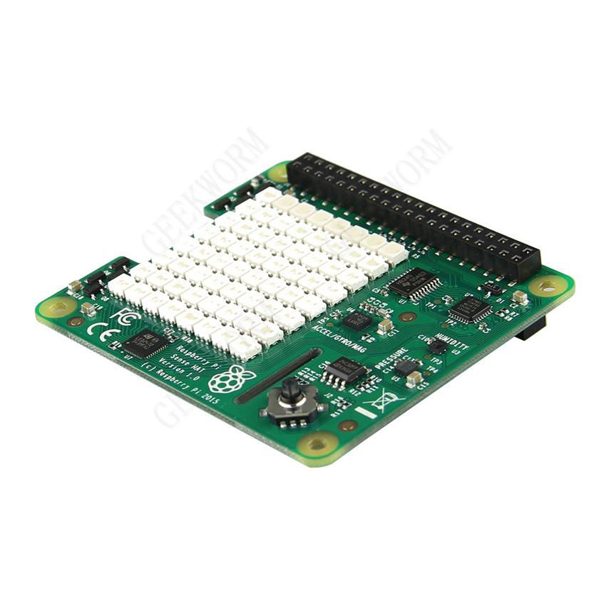Humidity and temperature sensor Sense HAT Raspberry Pi sensor HAT belt have direction pressure