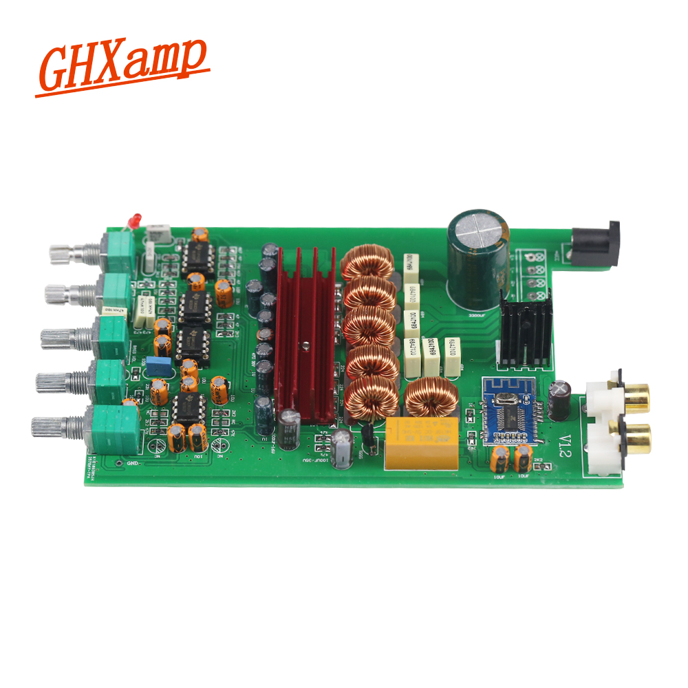 Ghxamp TPA3116 2.1 Subwoofer Bluetooth Amplifier Board 2X50W + 100W For Subwoofer Bluetooth 4.2 Desktop Speaker Car Home Theater ysdx 596 silicone subwoofer amplifier speaker for ipod grey