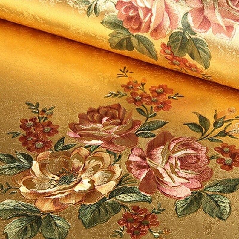 achetez en gros fleuri papier peint en ligne des grossistes fleuri papier peint chinois. Black Bedroom Furniture Sets. Home Design Ideas