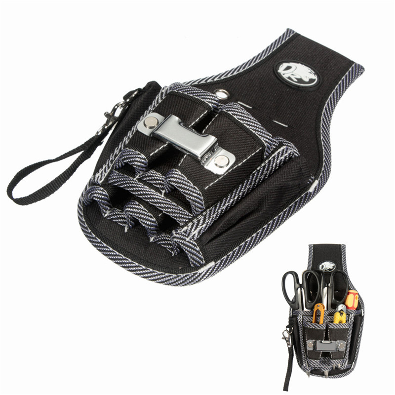 Outdoor Working Tool Bags 9in1 Electricians Waist Pocket Tool Belt Pouch Bag Screwdriver Carry Case Holder Tool Storage Bags td new design electricians waist pocket tool belt pouch bag screwdriver carry case holder outdoor working free shipping