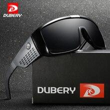 DUBERY Big Wide Leg Sunglasses Men Sport Protective Goggles Oversized Sun Glasses For Women Retro Frame Reflective Coating UV400
