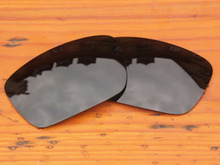 Black Grey Polarized Replacement Lenses For Fuel Cell Sunglasses Frame 100% UVA & UVB Protection