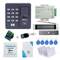 Hot sales! Full set Fingerprint Door Lock Access Control Controller Kit for access control with magnetic lock