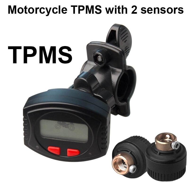 Мотоцикл ТМЗ подходит для 2 колес, водонепроницаемый платной ЖК кронштейн PSI/бар система контроля давления в шинах
