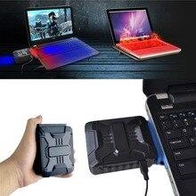 Mini Vacuum USB Laptop Cooler Air Extracting Exhaust Processor Cooling Fan CPU C