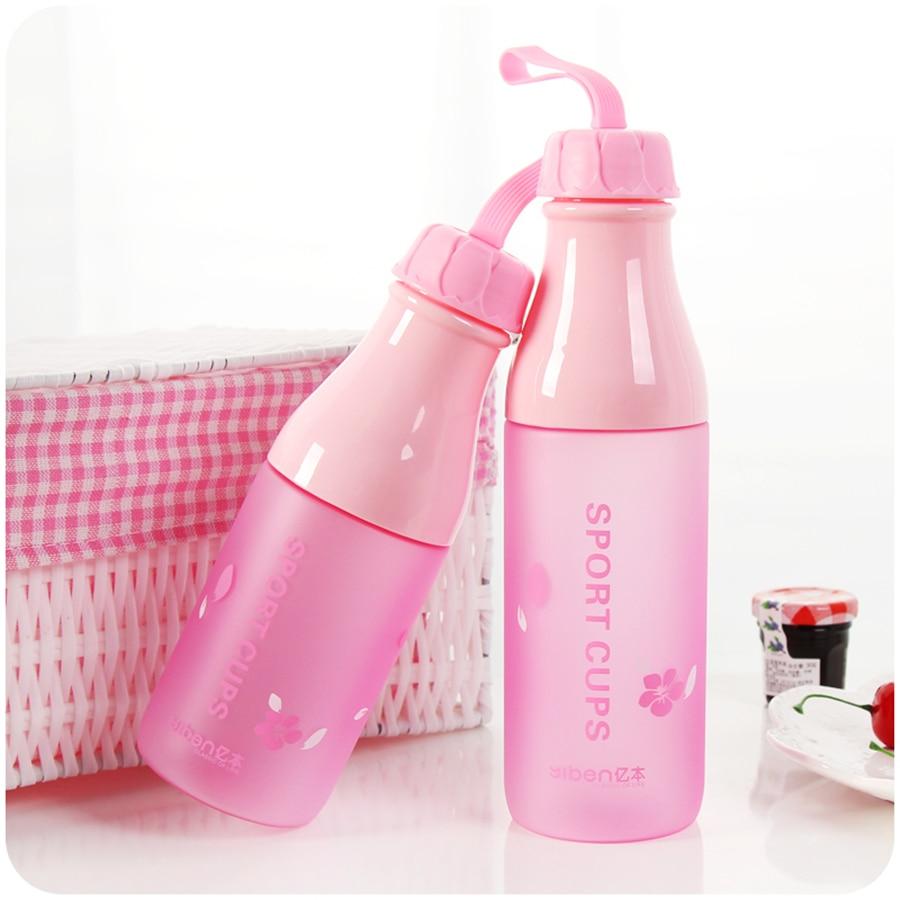Mi Botella de Agua de Plástico de Silicona Portátil Drinkfles Termo Agua Suminis