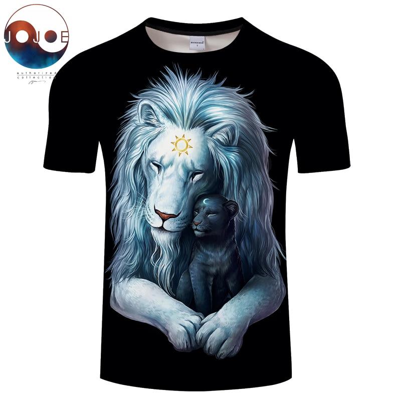 Child of Light black By JojoesArt Lion 3D Print t shirt Men Women tshirt Summer Funny Short Sleeve O-neck Top&Tee 2018 Drop Ship