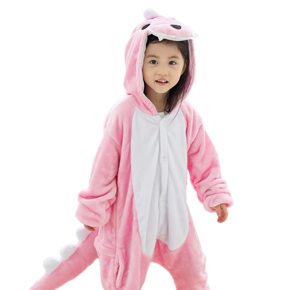 Boys Girls Animal Cartoon Pajama Baby Pajamas Kids Girl Boy dinosaur Children Sullivan Sleepwear Onesies Nightwear for 4 6 8 10