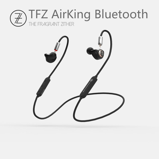 TFZ Airking Bluetooth 4.1 12mm Graphene Sports Wireless In-ear Hanging Neck Run HIFI Monitor Earphones w/ 0.78 Detachable IEMS 3