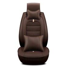 Простой и стильный Подушки удобные джентльмен сиденья для Peugeot 206 207 2008 301 307 308sw 3008 408 4008 508 RCZ
