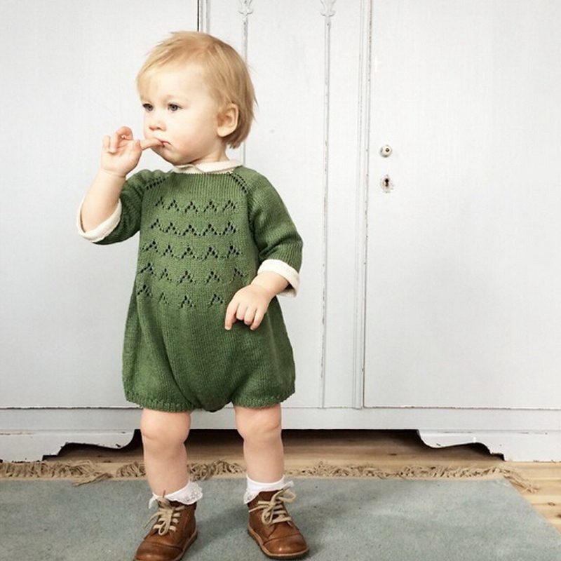 New-2016-Bobo-Chose-Dress-Cotton-Knit-Crochet-Baby-Girl-Romper-Kids-Seven-Sleeve-Jumpsuit-Infant-New-Born-Toddler-Sweater-Dress-5