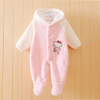 Baby Girl Winter Warm Rompers Cute Newborn Thickened Cartoon Overalls Ropa Bebe Snowsuit For Girls Baby