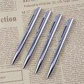 Metal Ballpoint Pen Rotating Pocket-size Pen Portable Ball Point Pen Small Oil Pen Exquisite Brief 1pc
