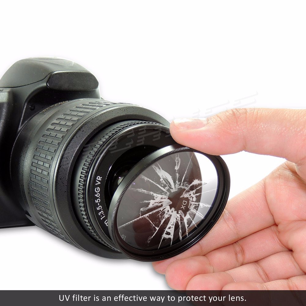 CPL+UV+FLD Lens Filter 52 55 58 62 72 77 mm Kit for Canon EOS 600D 7D Nikon D5300 Sony A7 DSLR Camera Lens with Filter Thread 7