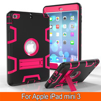 New Retina Kids Baby Safe Armor Shockproof Heavy Duty Silicone Hard Case Cover For Apple IPad