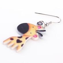 Cute Giraffe Earrings For Ladies and Girls