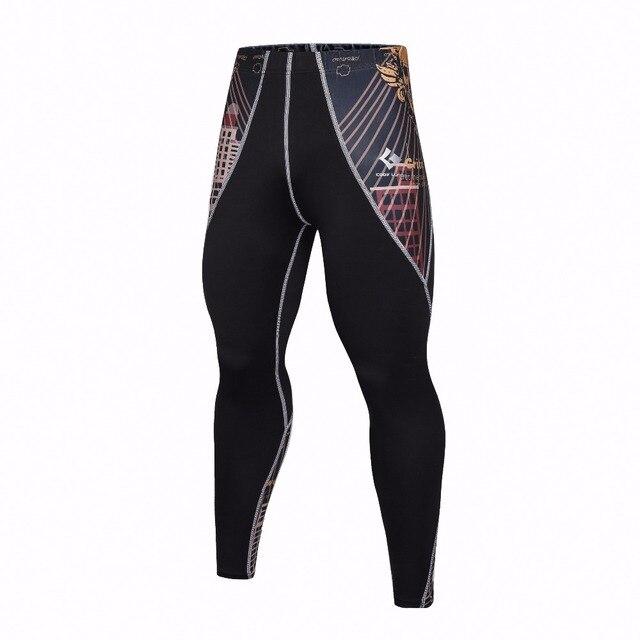 6380b8888f309 2017 nueva compresión Pantalones marca ropa Bases capa Medias ejercicio  fitness larga Leggings Pantalones ocio Pantalones