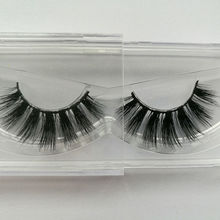 Popular Thick 3D False Eyelashes messy nature fur Eye Lashes Long Black Handmade lashes Extension for Christmas