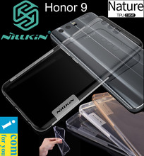 Nillkin Nature Ясно Мягкий ТПУ защитный чехол для Huawei Honor 9 Прозрачная силиконовая основа