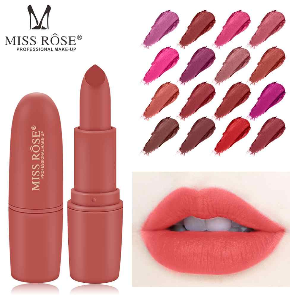 MISS ROSE Lipstick Matte Waterproof Nutritious 25Colors Easy to Wear Lipstick Long Lasting Lips Makeup kyliejenner lipstick