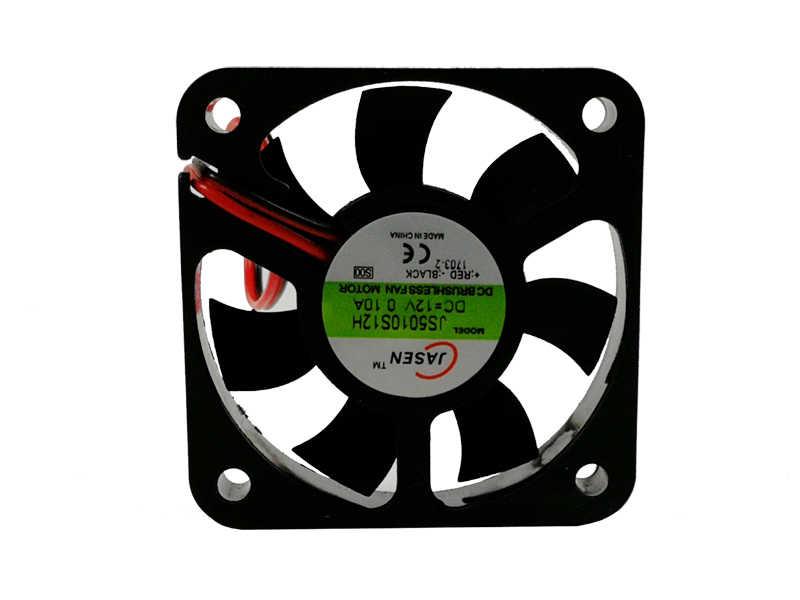 20pcs/5x5cm fan led par light use 5x5cm 12v/24v Silent fan