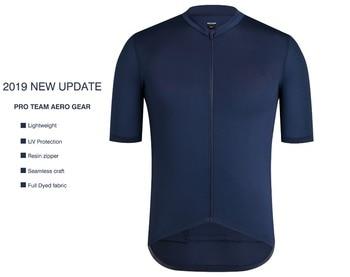 SPEXCEL 2019 New Version Dark Navy Pro team aero Lightweight Short sleeve cycling jersey Seamless process road gear