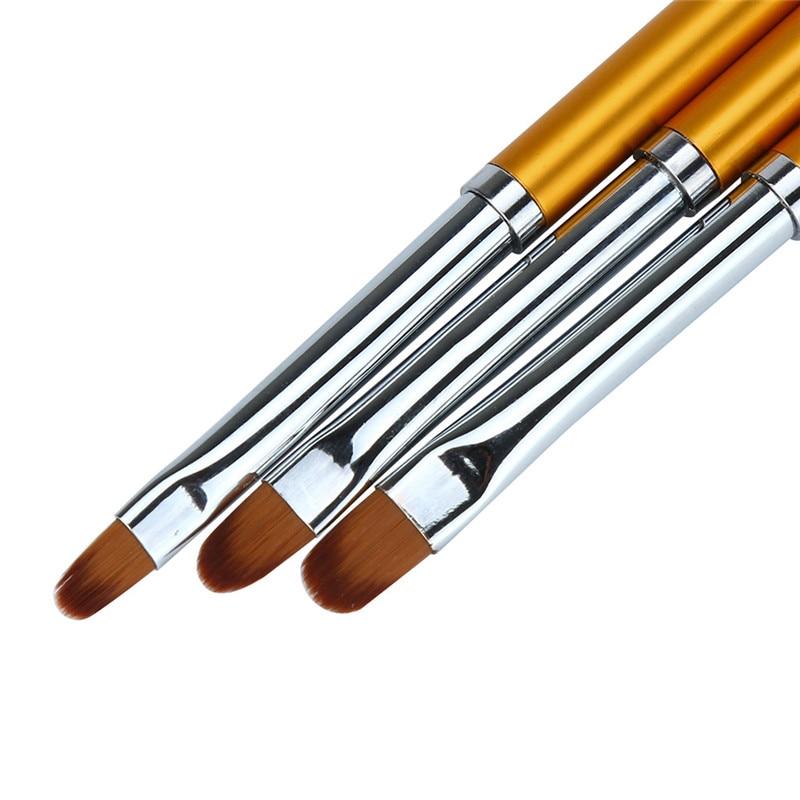 Aliexpress.com : Buy 3pcs Nail Art Brush UV Gel Polish ...