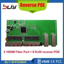 t ports POE reverse media converter