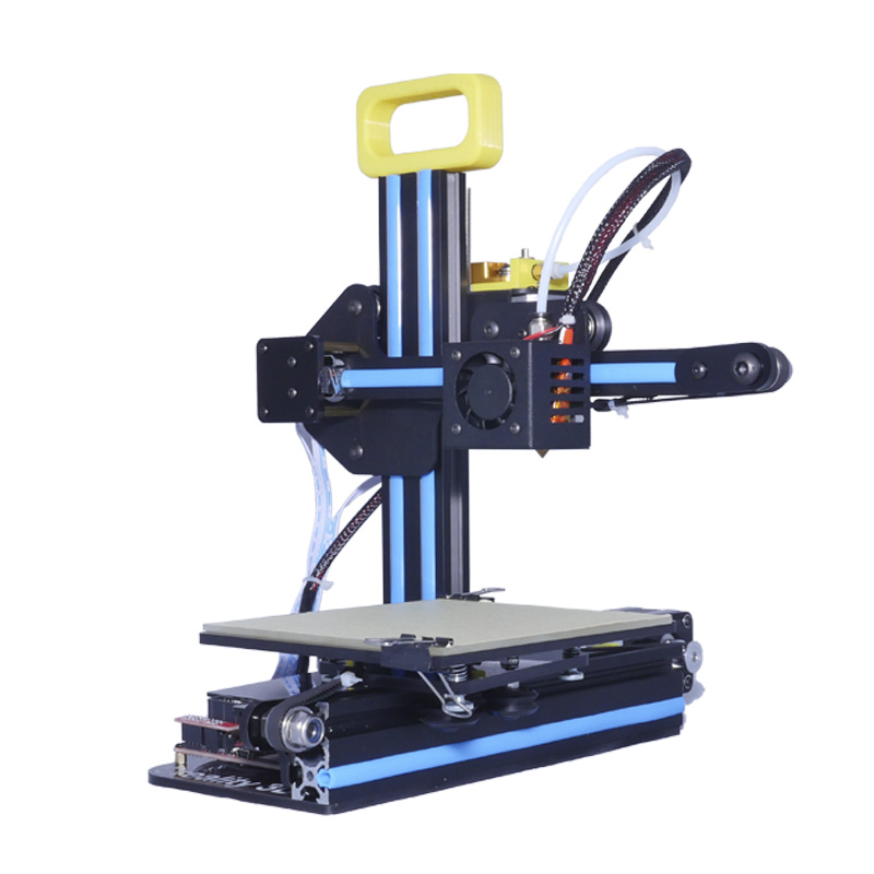Portable CR-7 Mini 3D Printer FDM LCD Off-line Printing Self-assembly DIY Kit Lightweight for Artistic Design Free shipping portable cr 7 mini 3d printer fdm lcd off line printing self assembly diy kit lightweight for artistic design free shipping