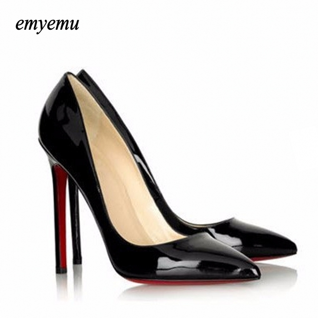 Free shipping Fashion Sexy Pointed Toe Women Pumps Platform 11cm High Heels  Ladies  Wedding Nude Pumps Party Shoes
