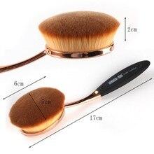 Cepillo de Dientes Oral componen Cepillos Marca Original Para Crema de Fundación y destacando