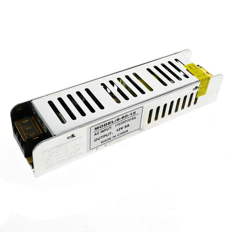 Mini Power Supply 5A 60W DC12V Switch Lighting Transformers LED Driver For LED Strip Light Power Adapter transformers маска bumblebee c1331
