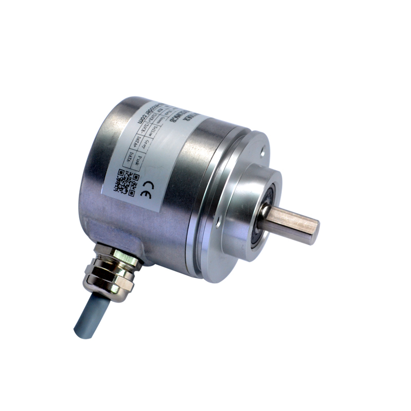 CAS60 cheap optical absolute encoder 10mm shaft absolute linear position sensor parallel SSI encoder цены