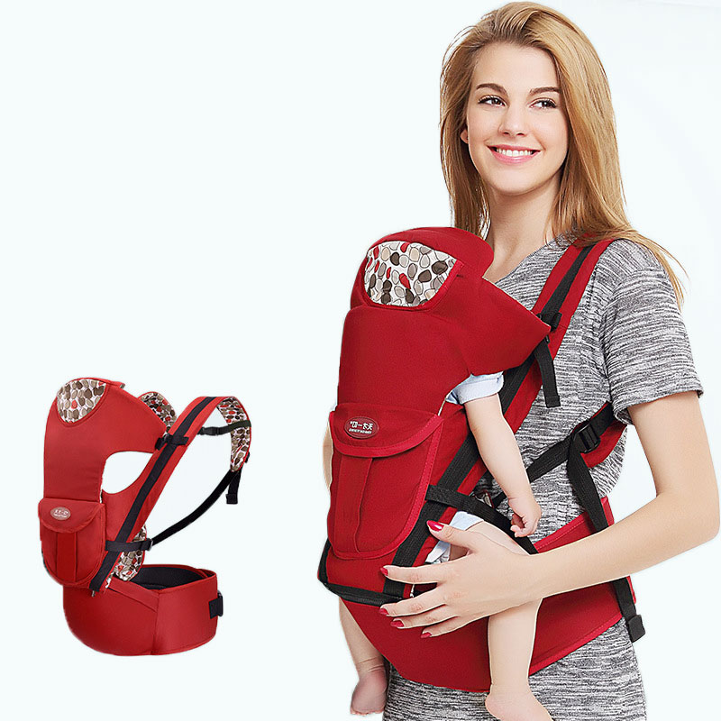 3 In 1 Multifunctional Baby Backpack Carrier Cotton Waist Stool Hipseat Infant Baby Carrier Sling Kangaroo Mother Baby Backpack baby carrier backpack