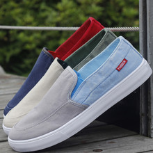 New 2017 Summer Men's Casual Shoes Breathable Canvas Shoes Fashion Slip on Loafers Comfortable Flats Zapatos Hombre 8