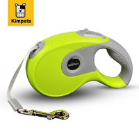 KIMHOME PET Dog Leash Retractable Dog Leads Automatic Extending Walking Lead For Medium Large Dogs Nylon