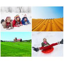 Outdoor Sport 2018 New Arrival 5 Colors Adult Children Snow Board Grass Skiing Snowboard Easy Ski Sled Skiing Sleigh For Winter