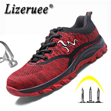 Men Steel Toe Safety Work Shoes Lightweight Indestructable Safety Shoe For Men Work & Safe Shoes Women Security Shoes F12 ce certification rubber men and women safety work shoe covers oil slip resistant specialized works shoes light steel toe shoe
