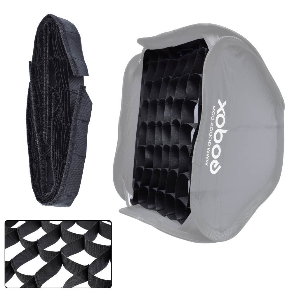 40x40 cm/16 x 16 nid d'abeille Grille pour Godox S-type Studio Speedlite Flash Softbox
