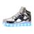 2016 7 niños de los colores de moda luz led usb recargable shoes/otoño niños luminosos zapatillas de deporte para niños y niñas envío gratis