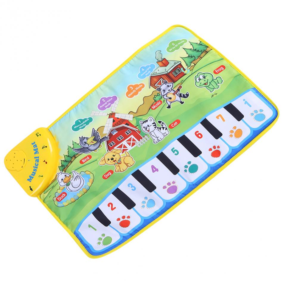 HTB1mLjcbbZnBKNjSZFKq6AGOVXa7 60 * 39CM Baby Music Play Carpet Mat Children Kid Crawling Piano Carpet Educational Musical Toy Kids Touch Paly Game Mats Gift
