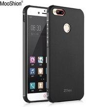 Mooshion марка роскошные анти-стук резиновый защитный телефон обратно case обложка для zte nubia z17 мини мобильный телефон крышка коке