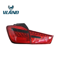 VLAND фабрика для автомобиля света для Mitsubishi Outlander спортивные светодиодный фонарь 2012 2013 2014 2015 ASX светодиодный бар хвост лампа красного цвета