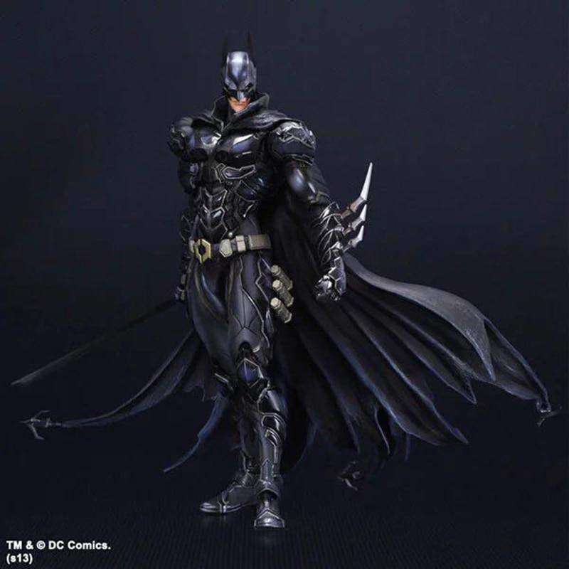 ФОТО Wolves World Superhero Play Art PA Kai Arkham Knight Nerazzurri Limited Ver PVC Action Figure Toy Model Statue kids gift PA0027