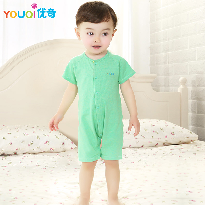 2017 New Baby Summer Rompers Good Elasticity Kids Short Sleeve Girls Clothes Newborn Boys Cotton Jumpsuit 3 4 5 6 7 8 12 Months cotton baby rompers set newborn clothes baby clothing boys girls cartoon jumpsuits long sleeve overalls coveralls autumn winter