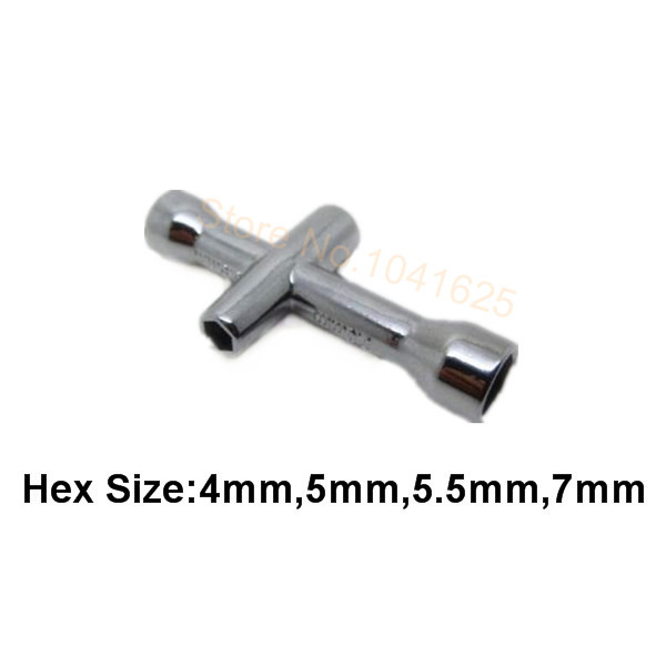 Wheel Hex Wrenches 80132 Small Cross Maintenance Tools Sleeve For HSP Redcat HPI Wltoys Traxxas Exceed