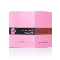 JYP Bee Venom Face Neck Moisturizer Firming Tightening Anti Wrinkle Moisturizing Day Night Cream for Skin Elasticity Firmness