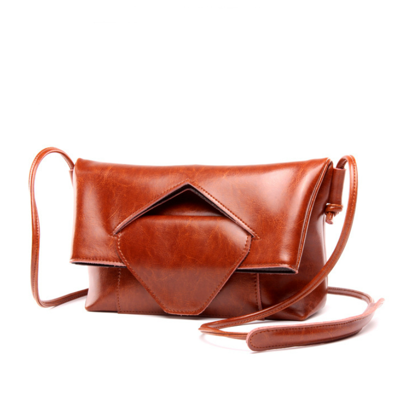 2017 New Fashion Oil Wax Cowhide Leather Luxury Handbags Women Bags Designer Famous Brands Crossbody Shoulder Bags Small Tote chispaulo women genuine leather handbags cowhide patent famous brands designer handbags high quality tote bag bolsa tassel c165